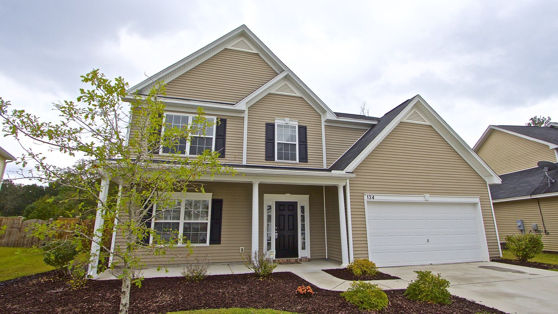 Sold large home in the country with five bedrooms and a