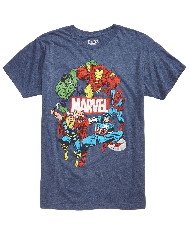 40e5453b C-Life Men's Marvel Avengers Graphic T-Shirt - T-Shirts - Men - Macy's