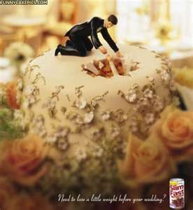 funny grooms cake