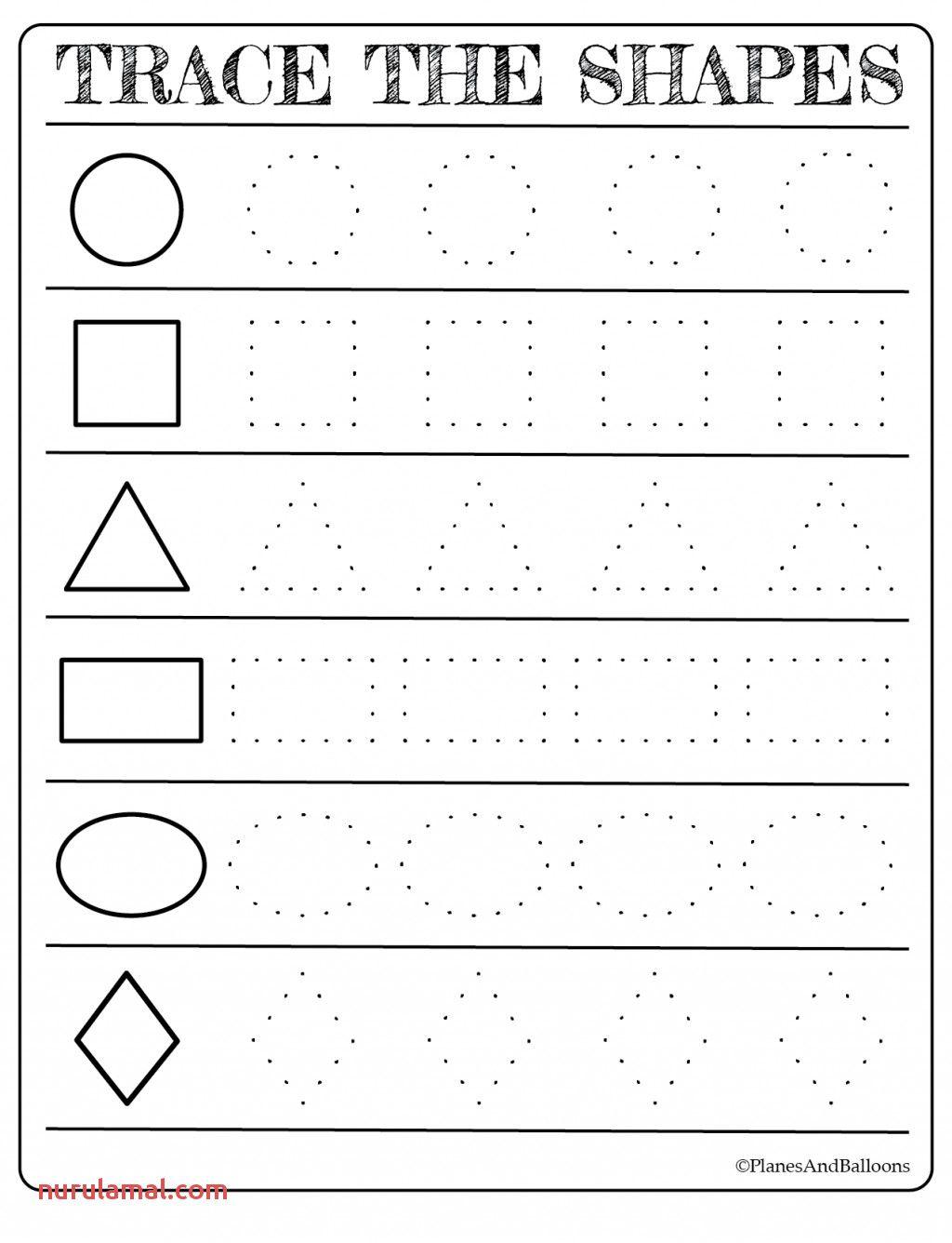 Rectangle Worksheet For Kids In