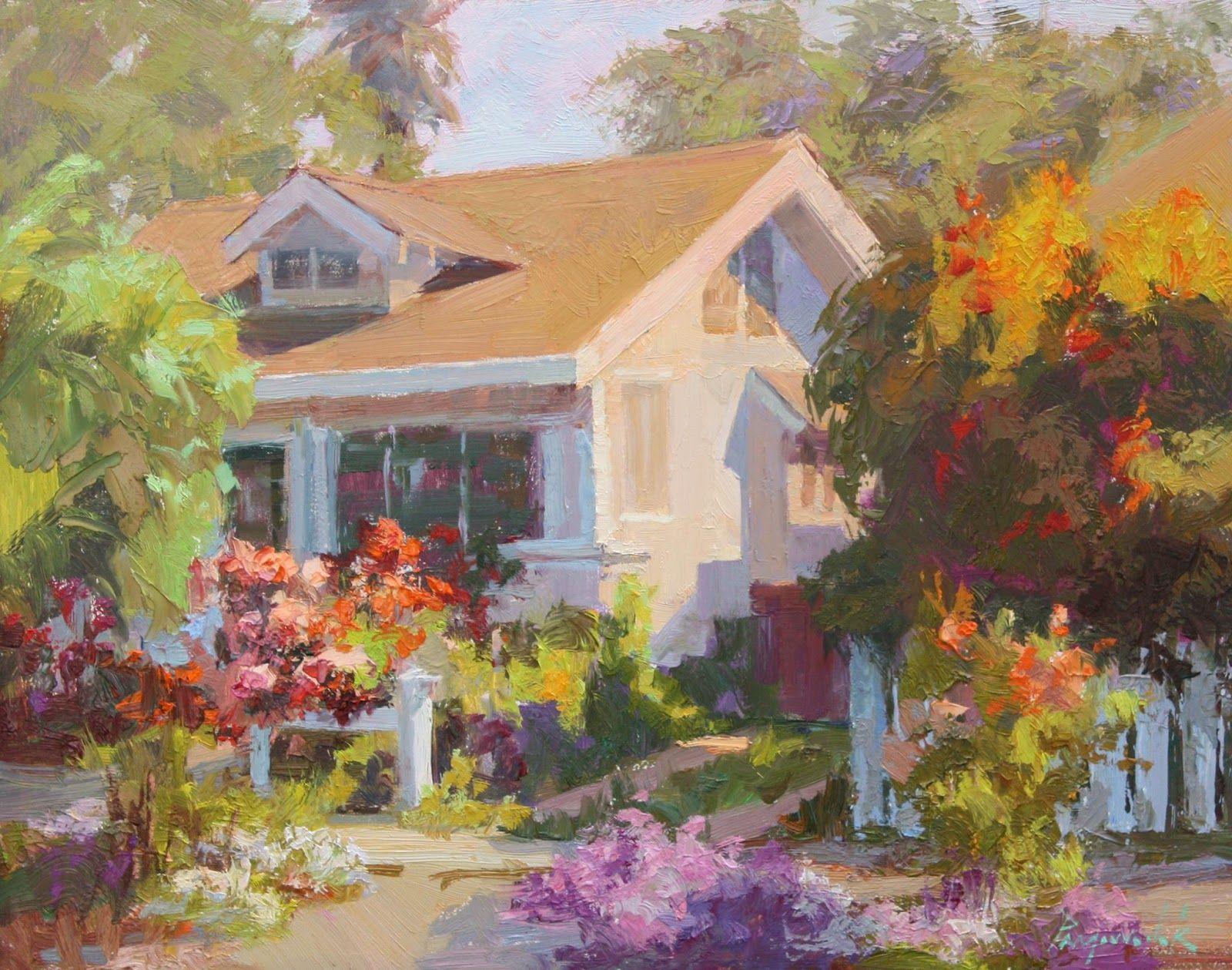 Camille przewodek plein air colorist painter oil