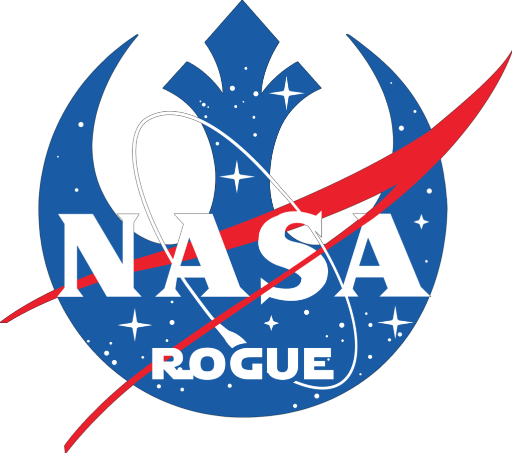 NASA Rogue Bumper Sticker