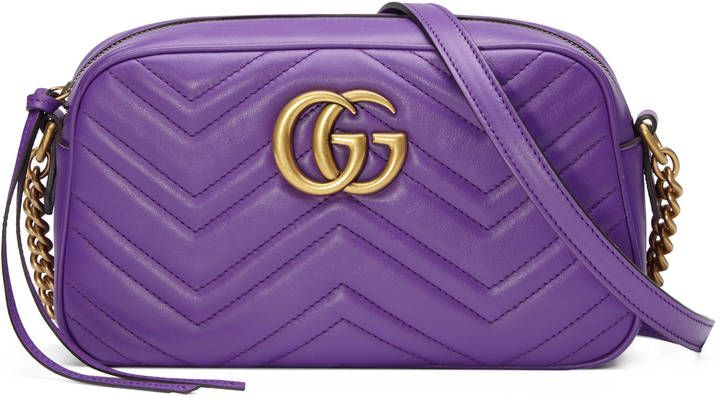 944679a10f6 Gucci GG Marmont small shoulder bag   charm   Pinterest   Gucci ...