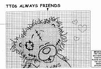 Tatty Teddy - Always friends 2