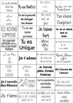 Message Pour Calendrier De L Avent.Petits Mots Doux 1 Mots Doux Calendrier De L Avent Et