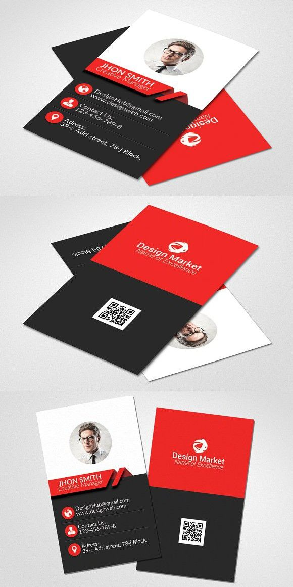 Vertical Business Card Template Medical Infographic $600 - medical business card templates