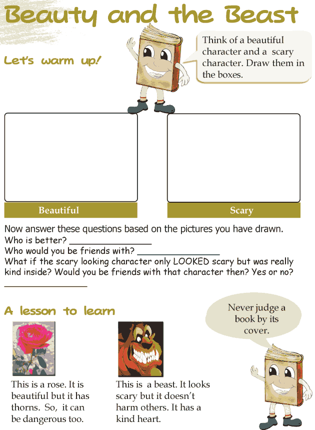 Grade 3 Reading Lesson 5 Fairy Tales Beauty And The Beast