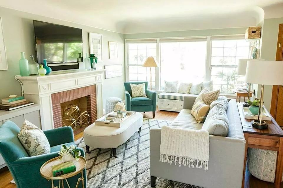 Sweet Home Small Living Rooms Livingroom Layout Bungalow Living Room
