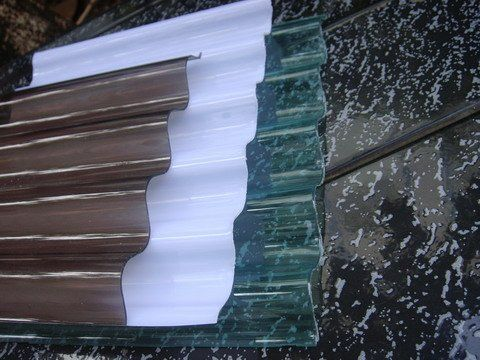 Color Kerala Clear Corrugated Plastic Roof Sheets Cdw