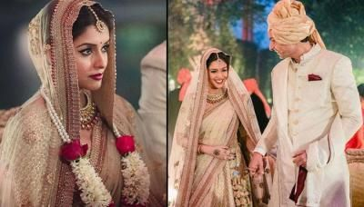 Beautiful Wedding Pictures Of Rahul Sharma And Asin The News Track Wedding Wedding Pictures Celebrity Weddings