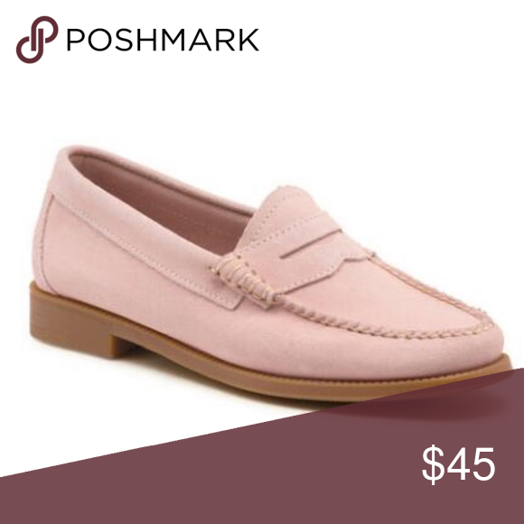 WHITNEY EASY SUEDE WEEJUNS LIGHT PINK