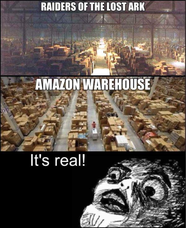 Amazon Warehouse Indiana Jones Memes Amazon Meme Work Memes