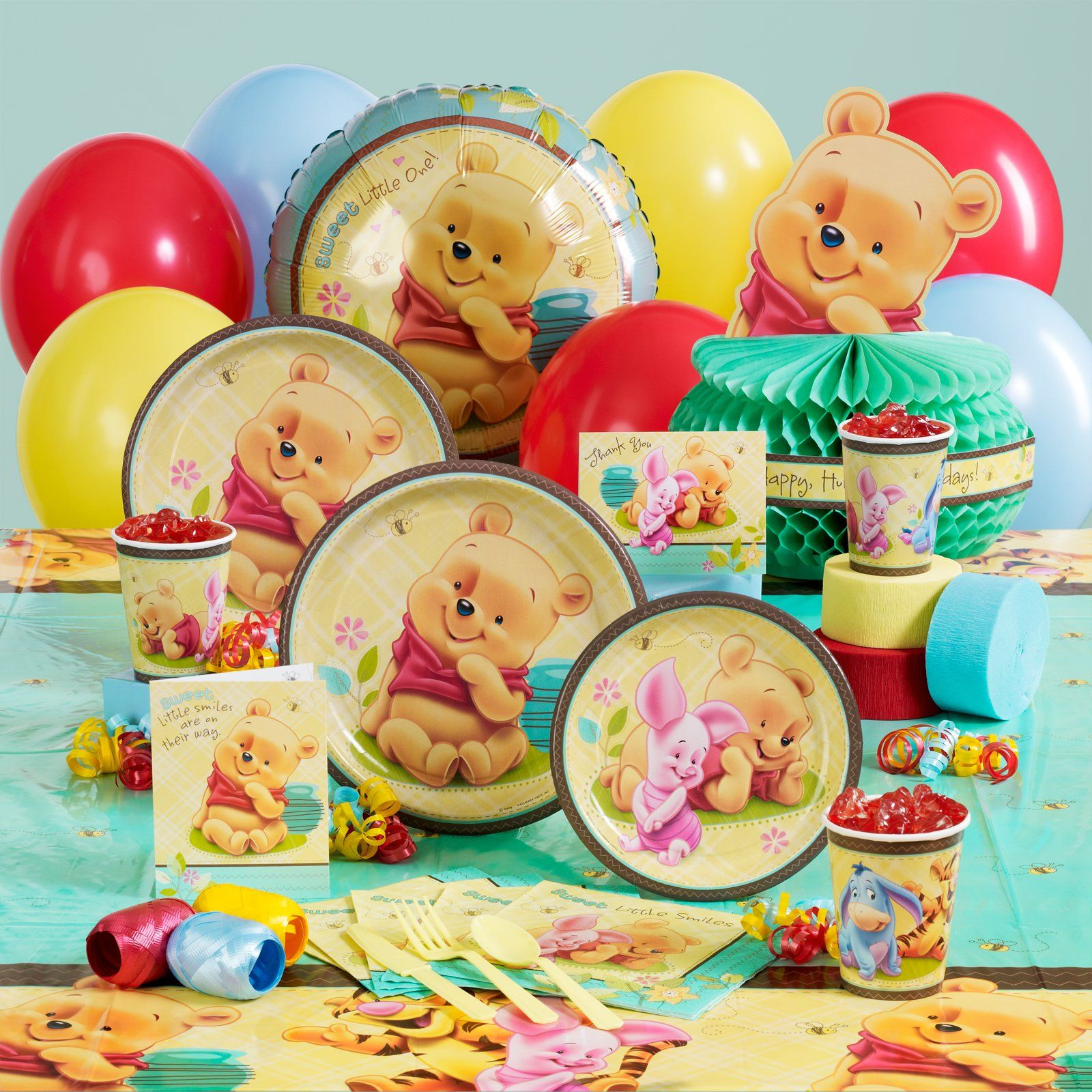 Baby Boy Shower Attractive Cute Winnie The Pooh Baby Shower Ideas