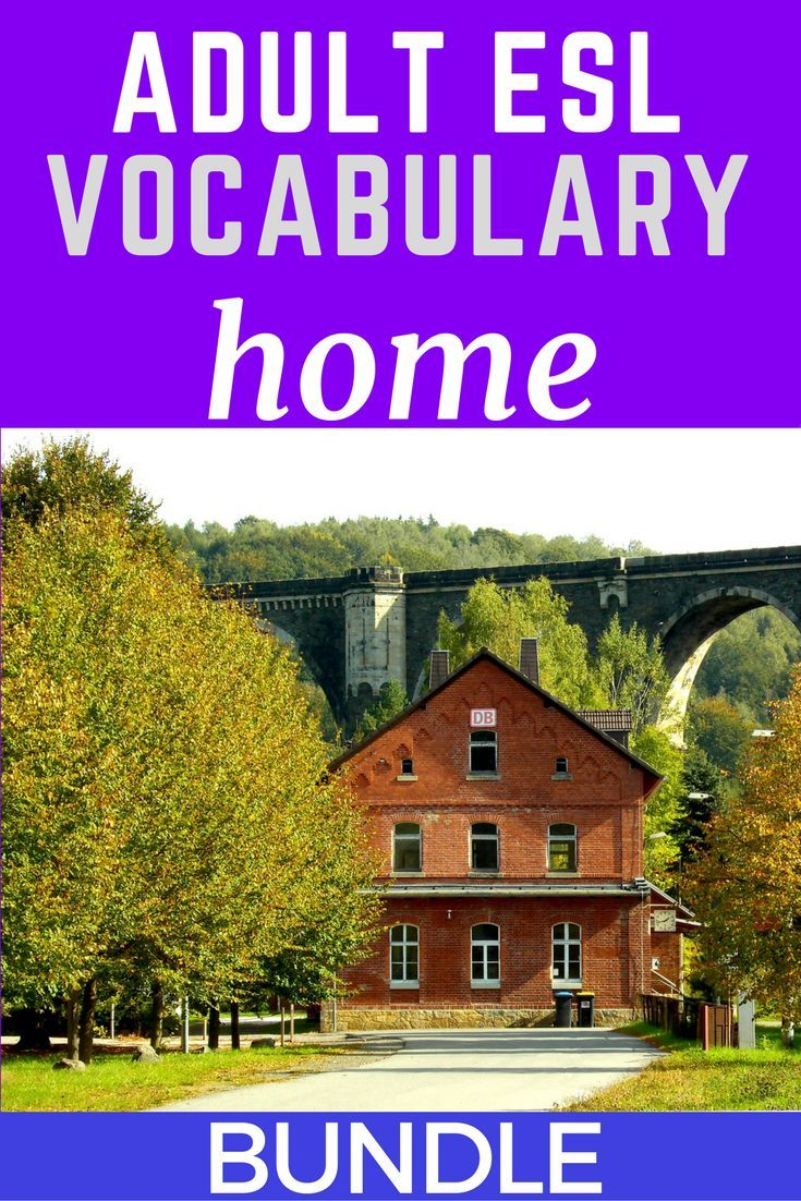 Home Vocabulary For Esl Adults Bundle Of Worksheets Task Cards