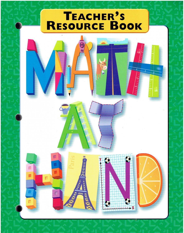 Math At Hand Teacher's Resource Book ©2000 Great Source workbook ...