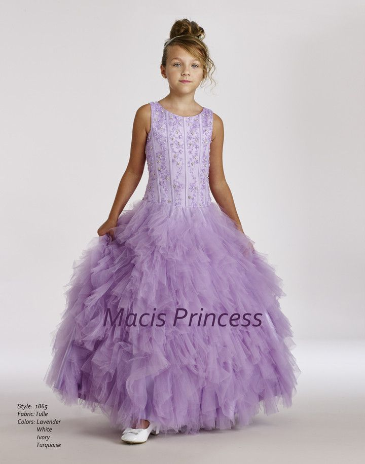 b1f3625465f Macis Design  1865 Flower Girl and Pageant Dress
