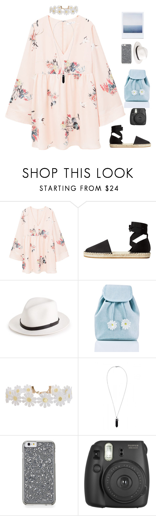 """""""going to ..."""" by remooooo ❤ liked on Polyvore featuring MANGO, rag & bone, Sugarbaby, Humble Chic and Fujifilm"""