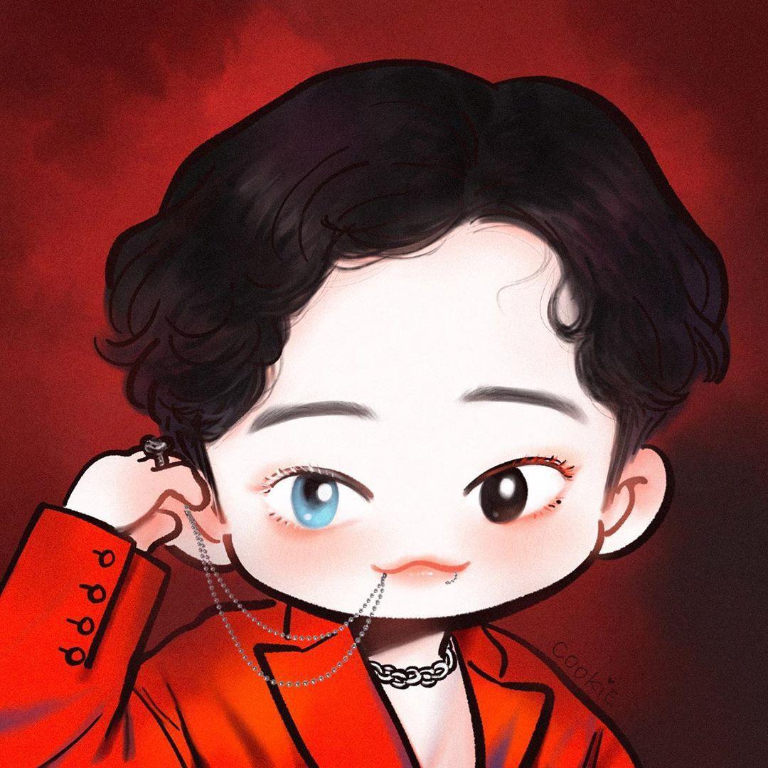 Pin oleh CHANYEOL di CHEN (첸) Kartun, Exo, Pacar pria