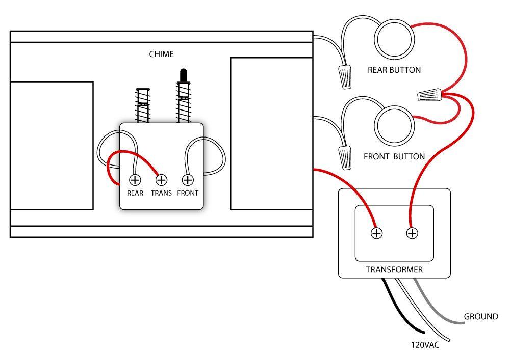 wiring diagram for door bells