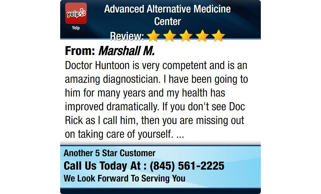 Doctor Huntoon is very competent and is an amazing ...