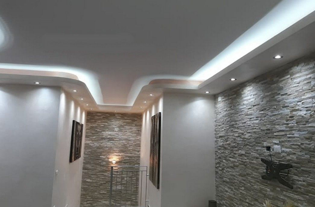 Faux plafond ceiling plafonds collection pinterest for Faux plafond salon villa