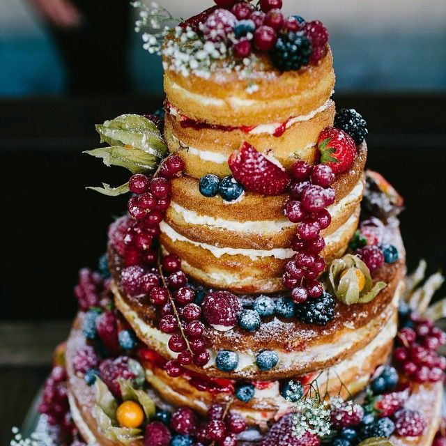 Rustic Wedding Cakes Manchester