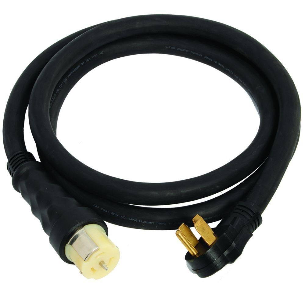 Generac 10 Ft 50 Amp Male To Female Generator Cord 50 Amp Generator Cord Cable Wire