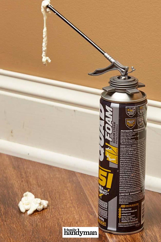 17 Ways To Master Using Spray Foam At Home Home Repair Spray Foam Diy Repair