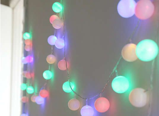 7 Ways to Transform String Lights from Holiday to Every Day Ball