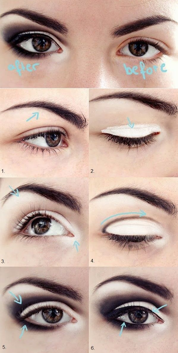 db42111b6e0 Bigger Eyes Look – DIY I Step-By-Step Tutorial I Makeup can be used in  different ways to make your eyes look bigger. Why not try this beautiful  look?!