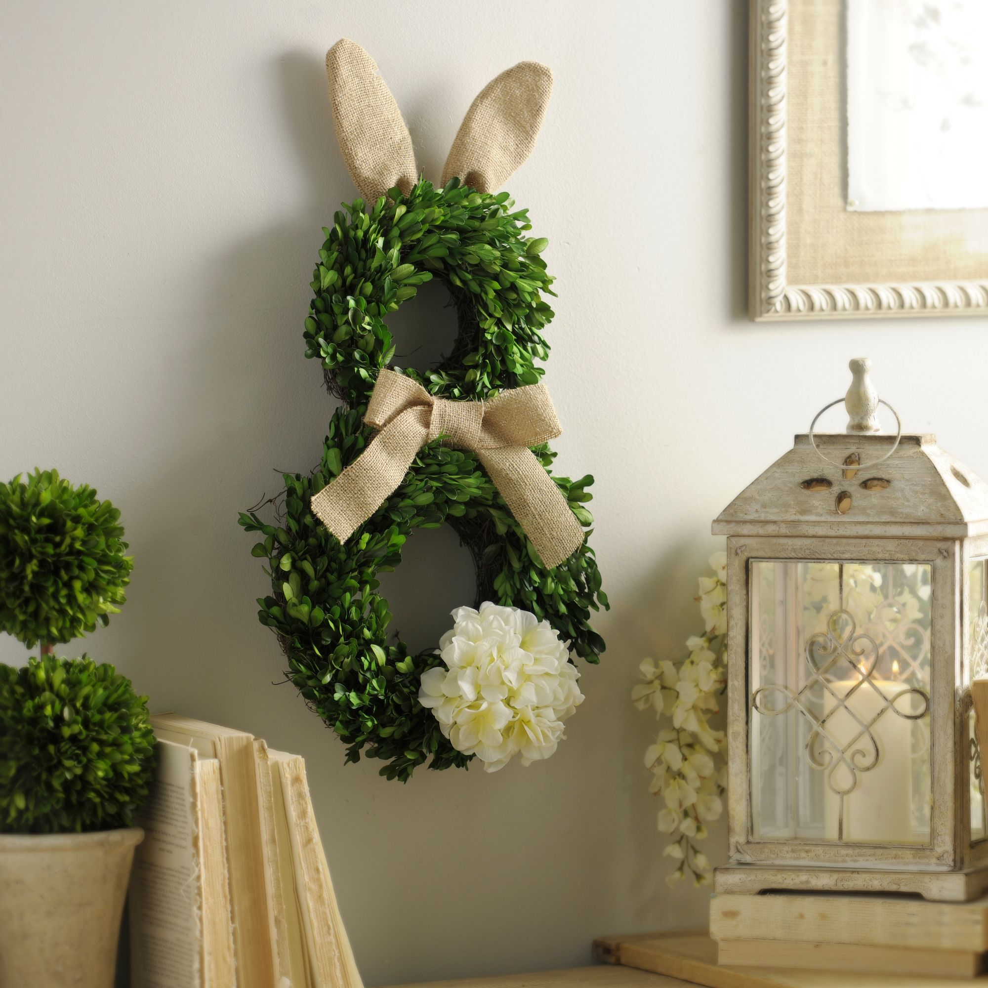 Target Wreaths Home Decor: Product Details Boxwood Easter Bunny Wreath In 2019