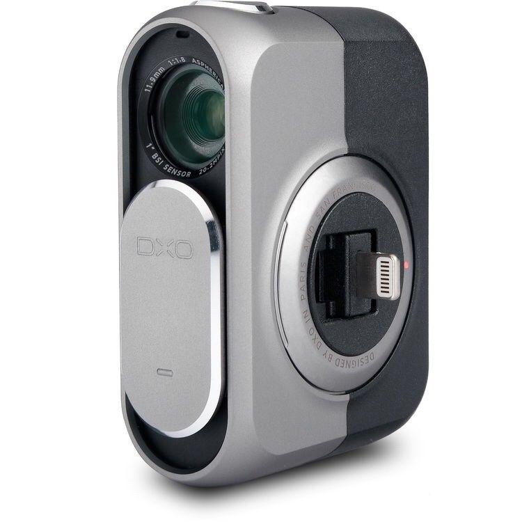 DxO ONE 20.2Megapixel Digital Camera Silver/Black