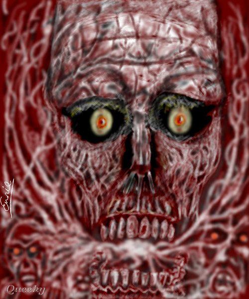 Gothic Skull Drawings | Gothic Skull → variate
