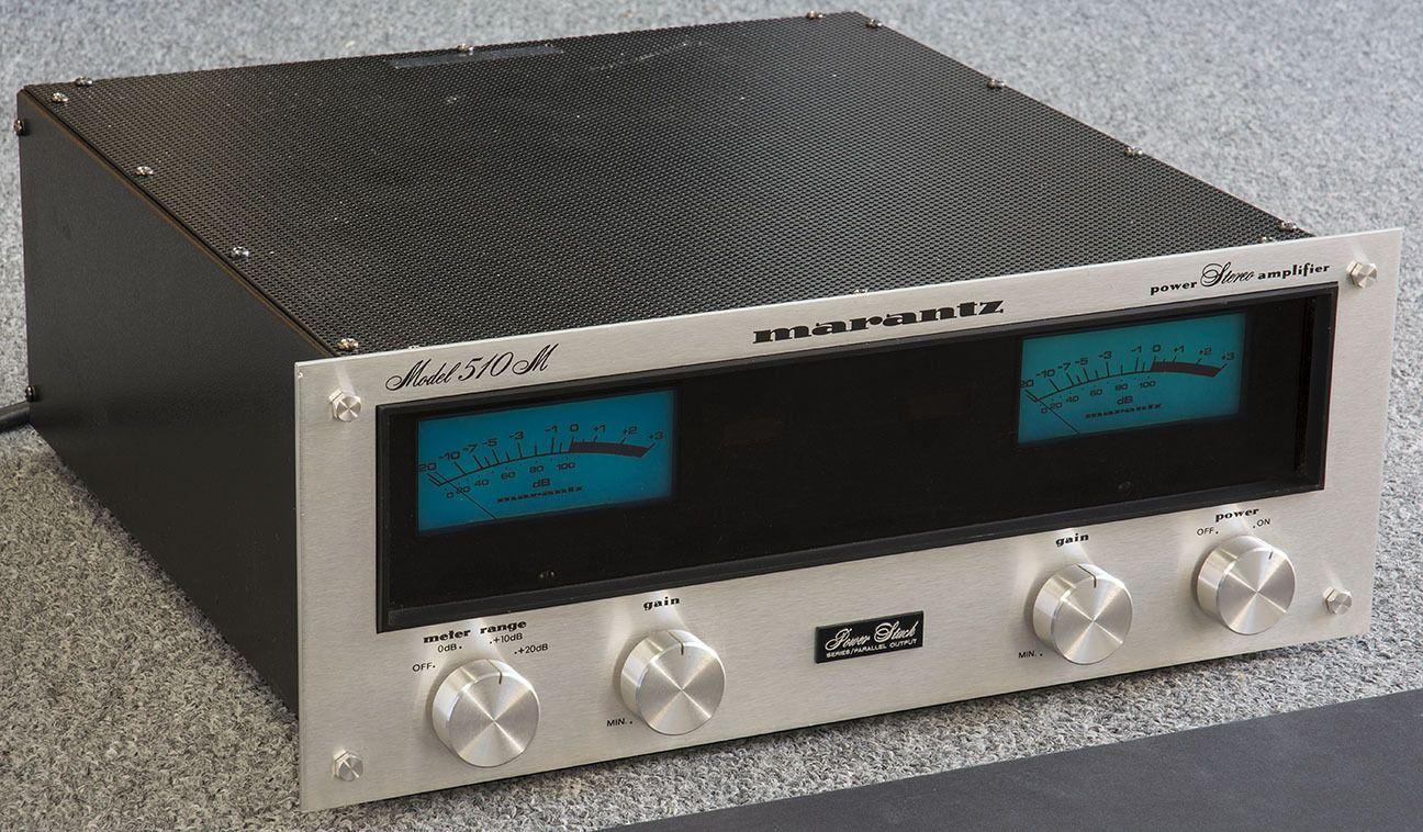 Marantz 510m Stereo Power Amplifier Owners Manual Service Manual Carton    eBay