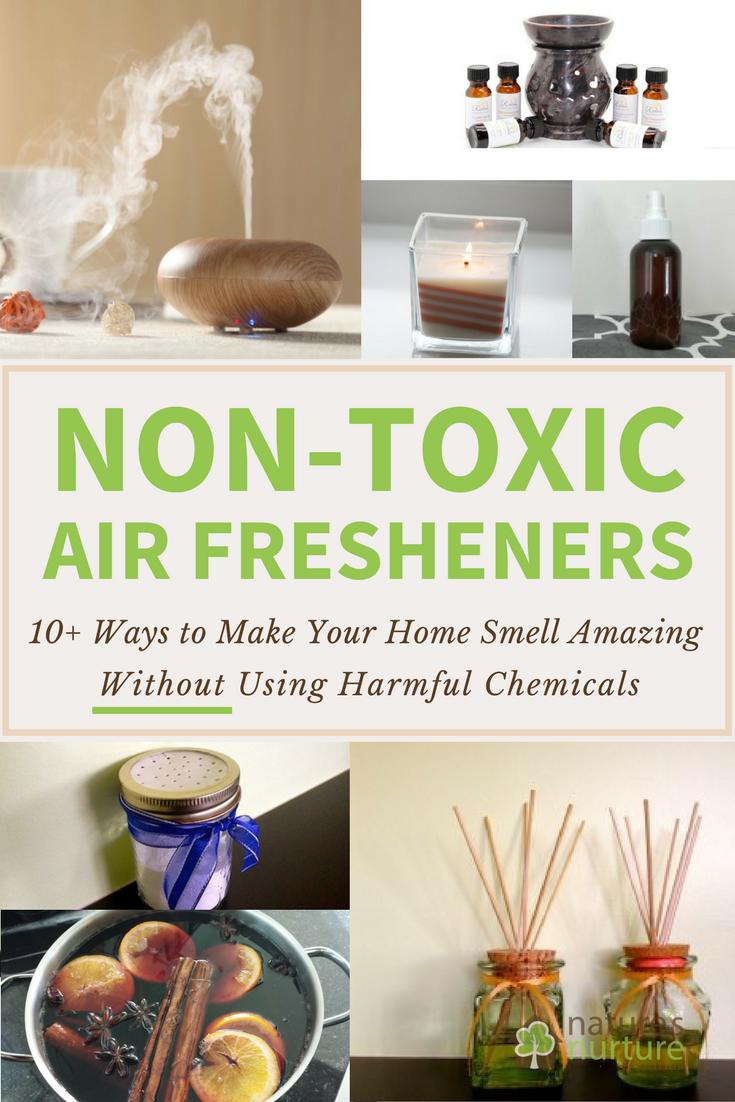 Non-Toxic Air Fresheners: Safer Alternatives That Work! | Nature's Nurture