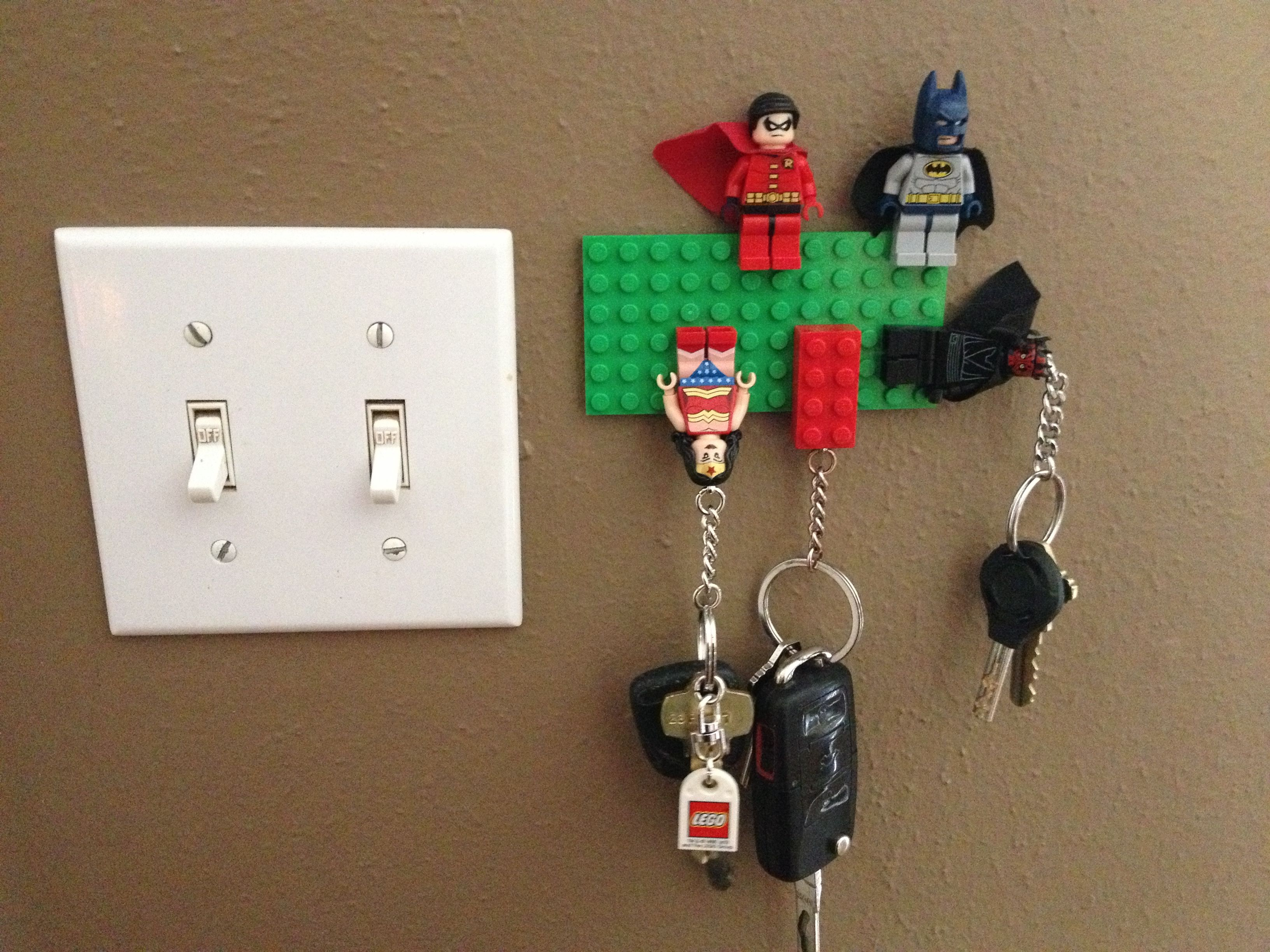 lego keychain board - my crafty brother made this! | for the