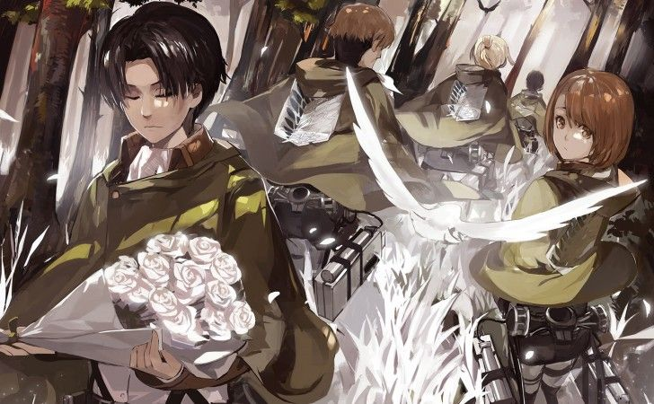 Attack On Titan Wallpaper Windows 7 Desktop Wallpaperchanel Com Attack On Titan Anime Titans