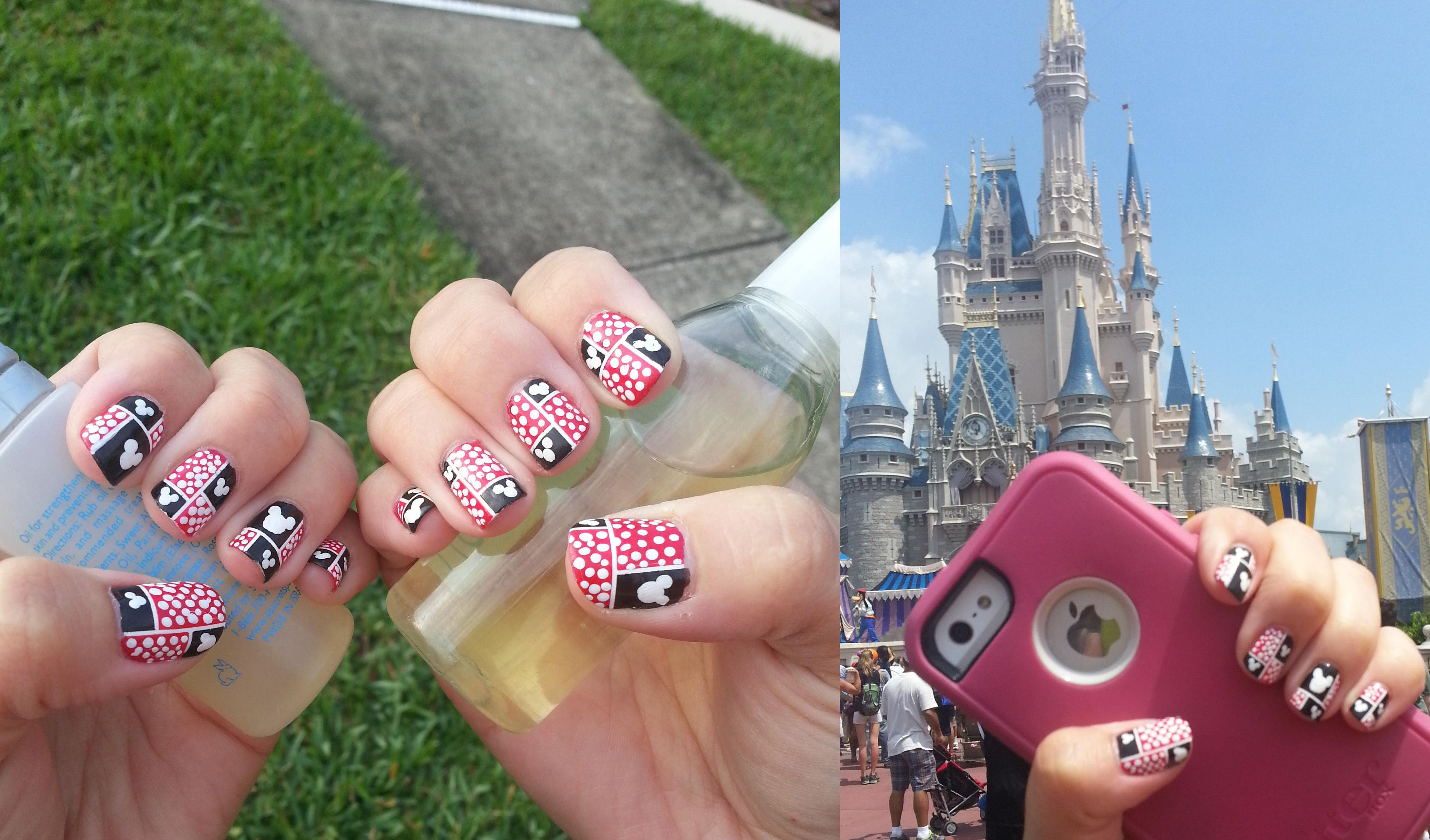 disney manicure nails! - Disney | Pinterest