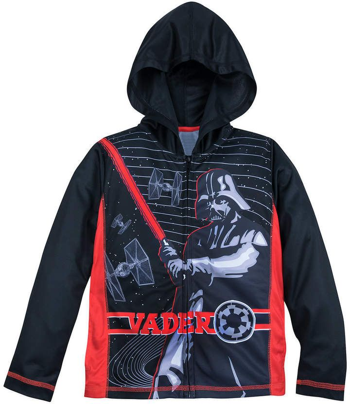 f37765f13a7d Disney Darth Vader Hooded Zip Jacket for Boys