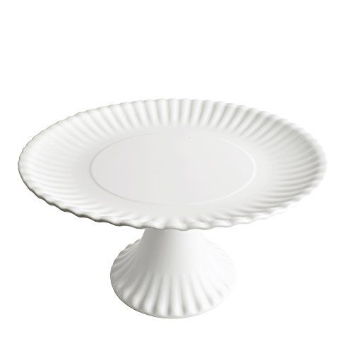 Explore Paper Plate Crafts Cake Plates and more!  sc 1 st  Pinterest & Faux Paper 11-inch Melamine Pedestal Cake Plate One Hundr...u2026 | Cake ...