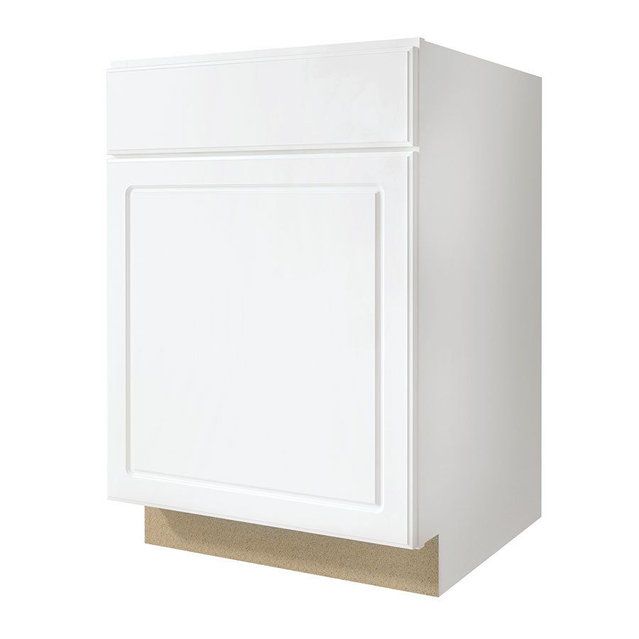 Diamond Now Concord 21 In W X 35 In H X 23 75 In D White Door And Drawer Base Stock Cabinet Lowes Com Stock Cabinets Base Cabinets White Doors