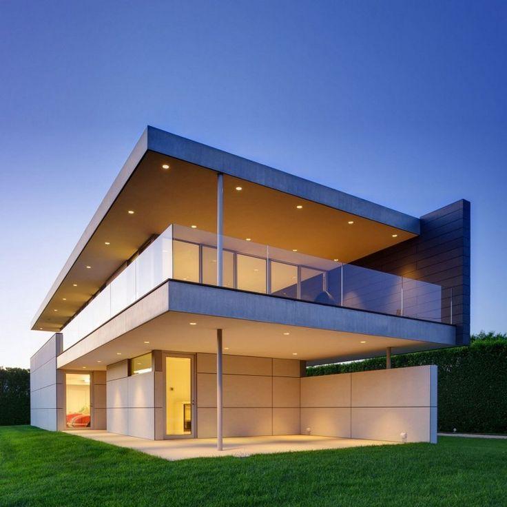 新築住宅の外観アイディア10選 箱型なナウトレンドデザイン: Stunning Ocean Guest House By Stelle Architects