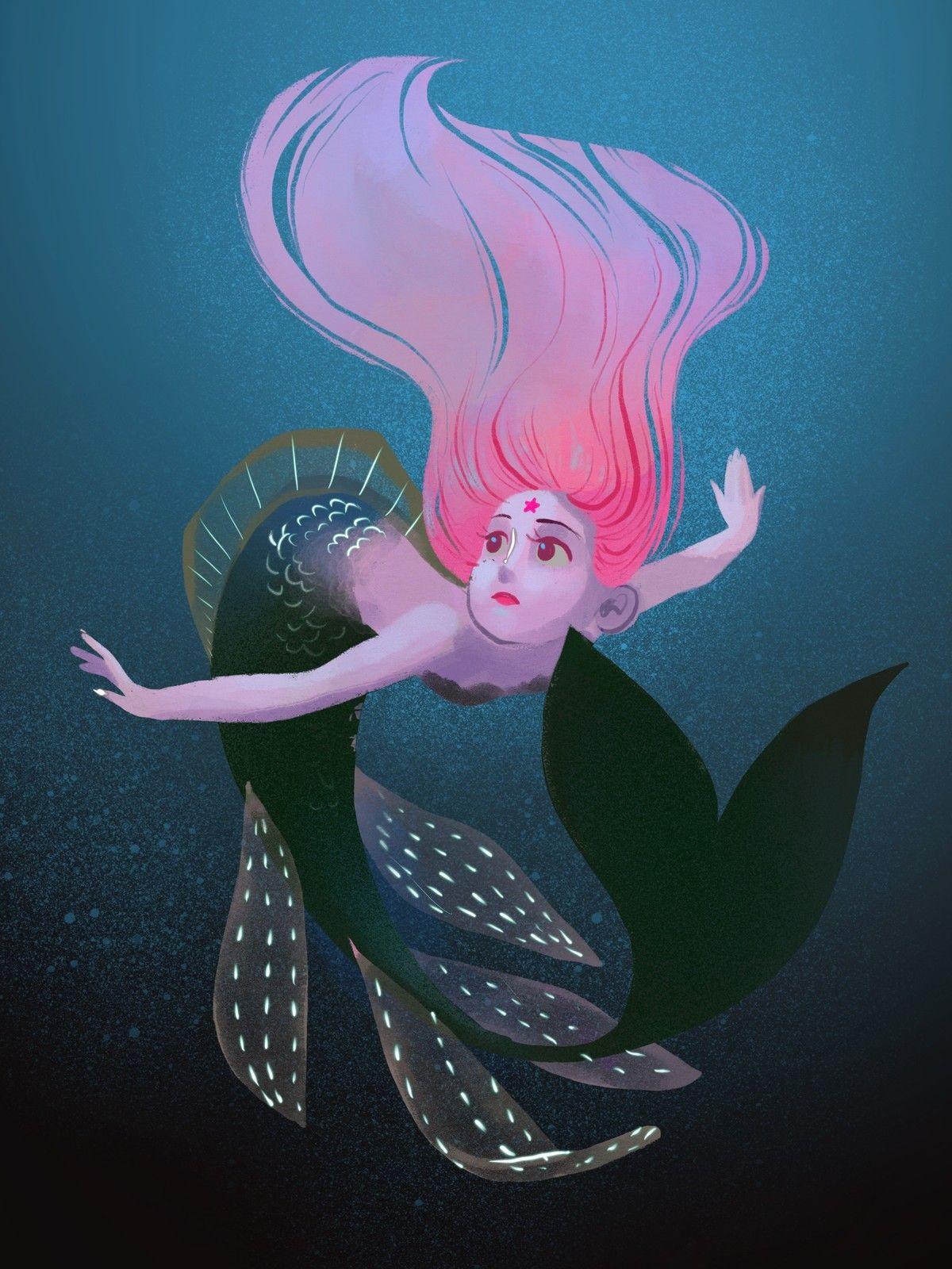 Illustration_Mermaids, Melanie Yu