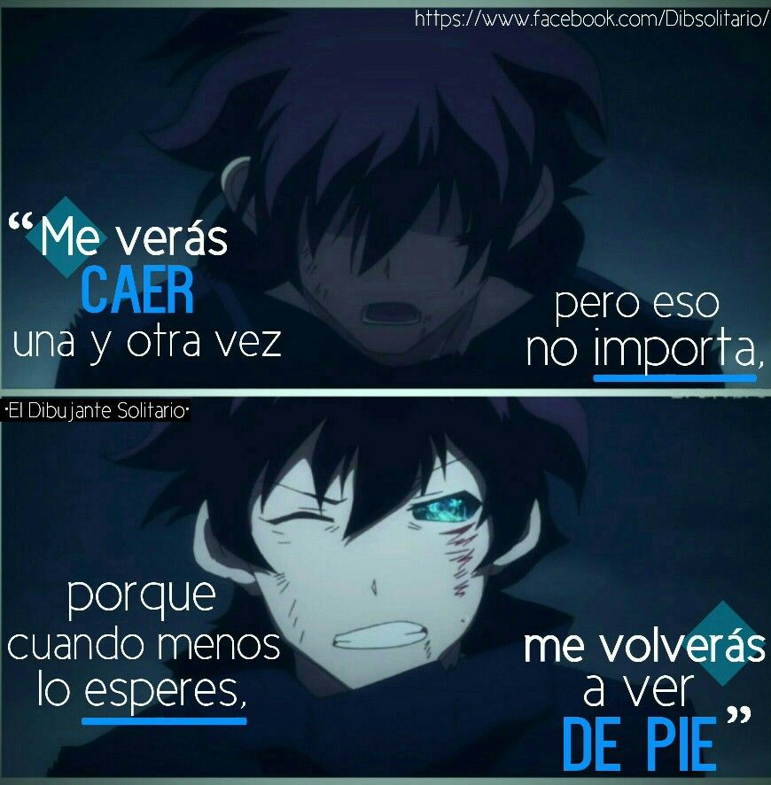 Frasesdibsol Anime Frases Frases De Sentimientos Y