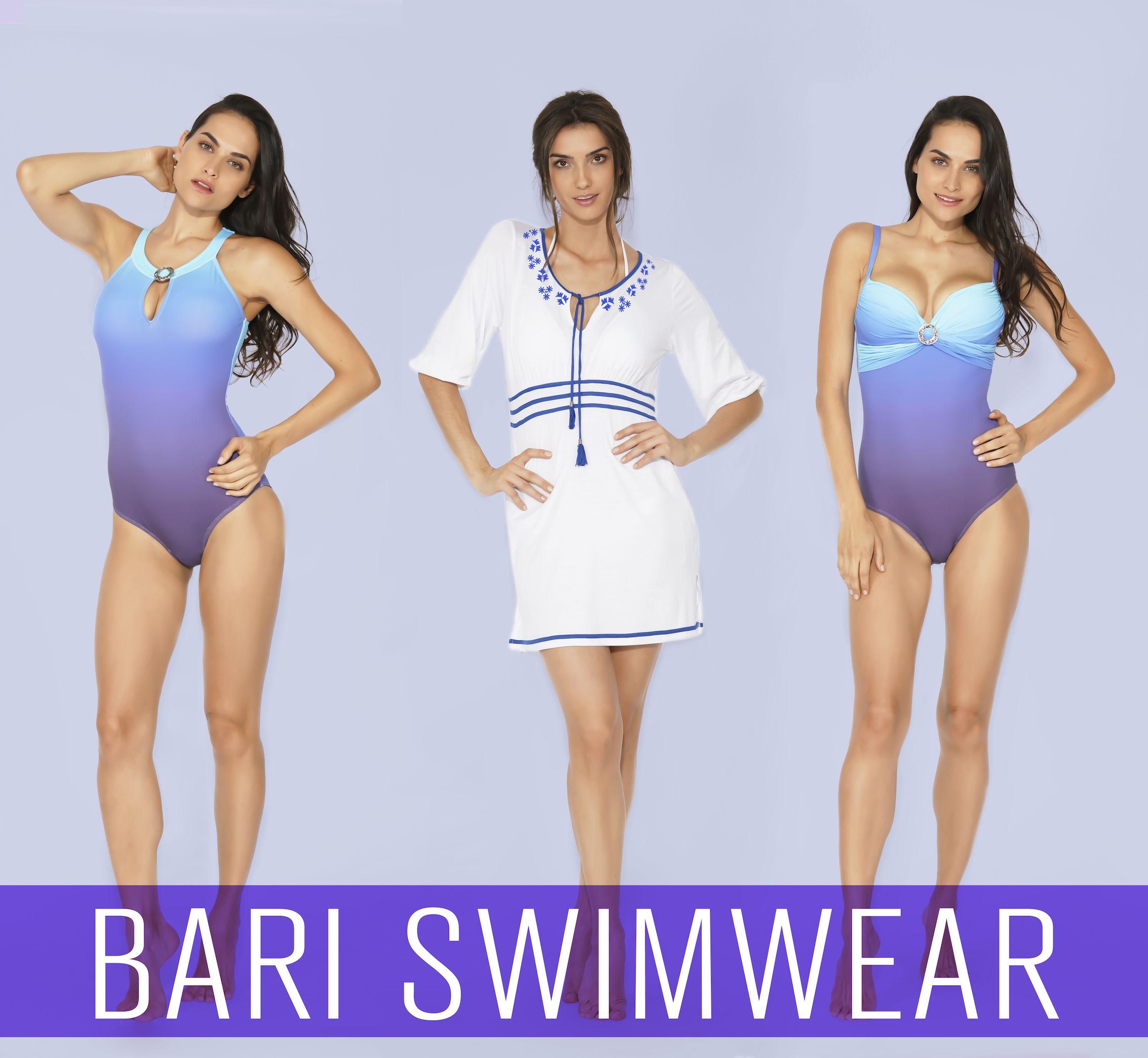 6cd559a1df51 Trajes de baño completos en Bari Swimwear #azul #morado #swimwear ...