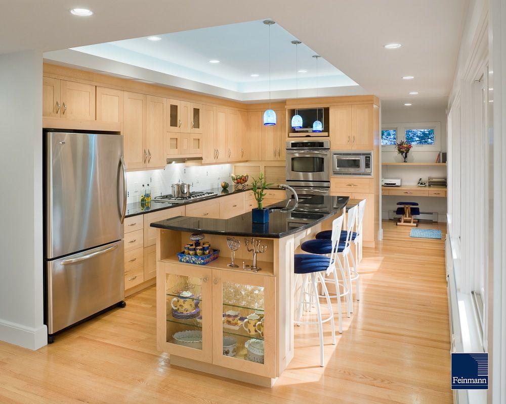 Award Winning Boston Ma Area Design And Build Firm Feinmann Kitchen Ceiling Design Kitchen Redesign Kitchen Soffit