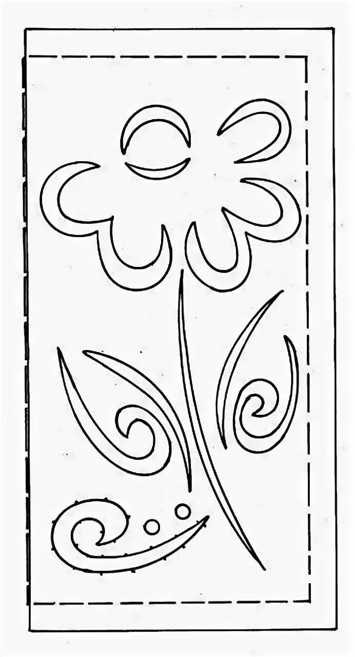 Шаблоны для вырезных открыток, жуком