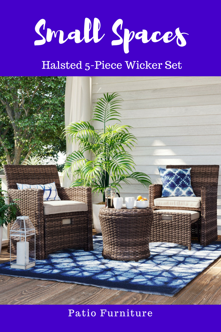 Bring some classic style and easy comfort to any outdoor living space with the
