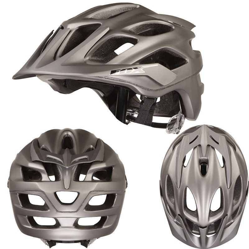 Fox Flux Mountain Bike Helmet Is Designed For All Type Of Biking