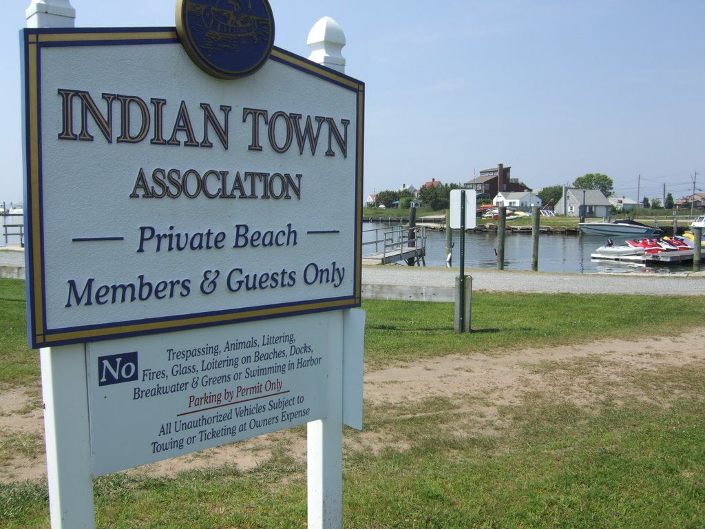 Indian Town Ociation Sign Old Saybrook Ct New England Pride